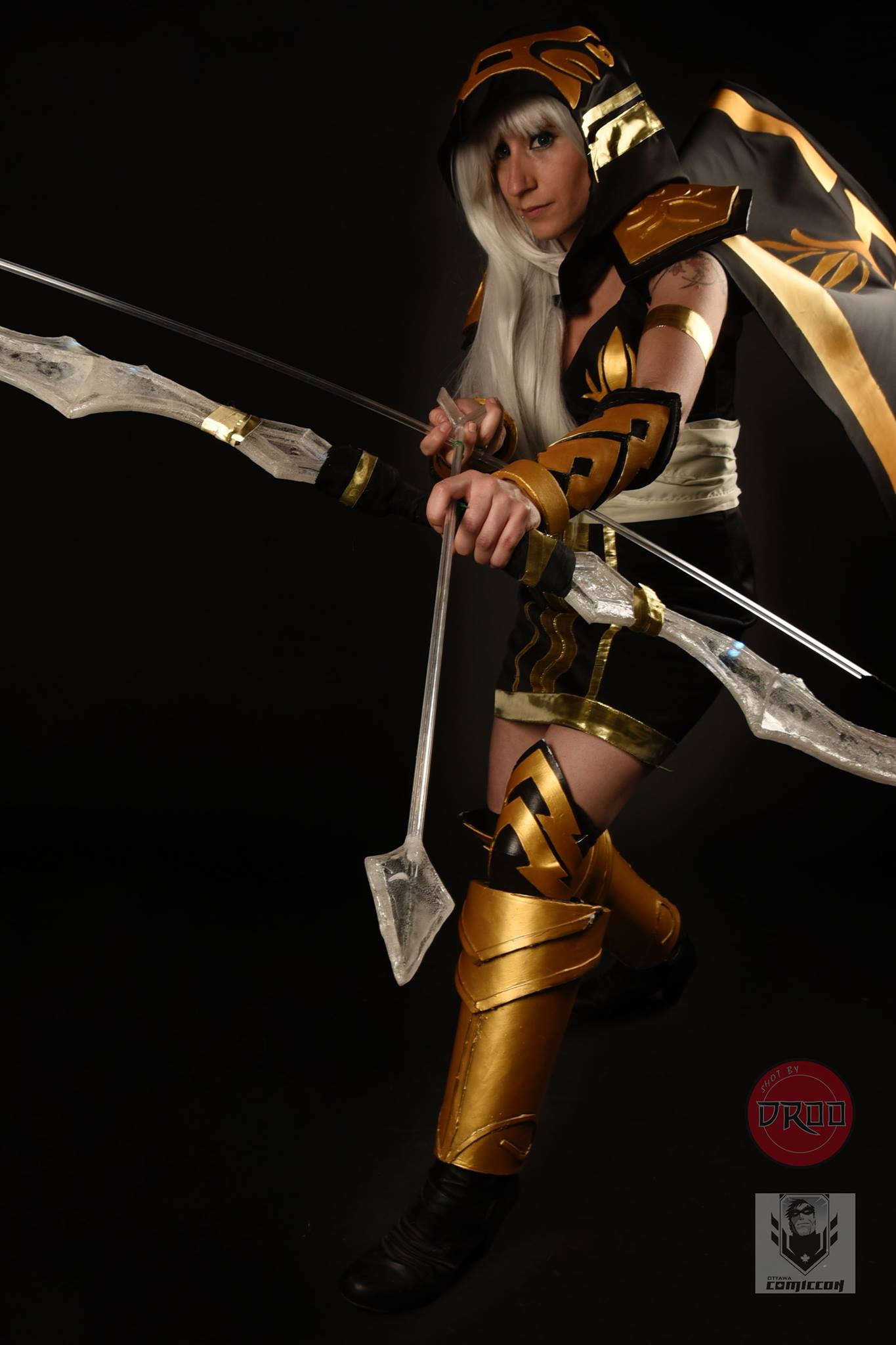 Ashe Cosplay bow - Arc lumineux