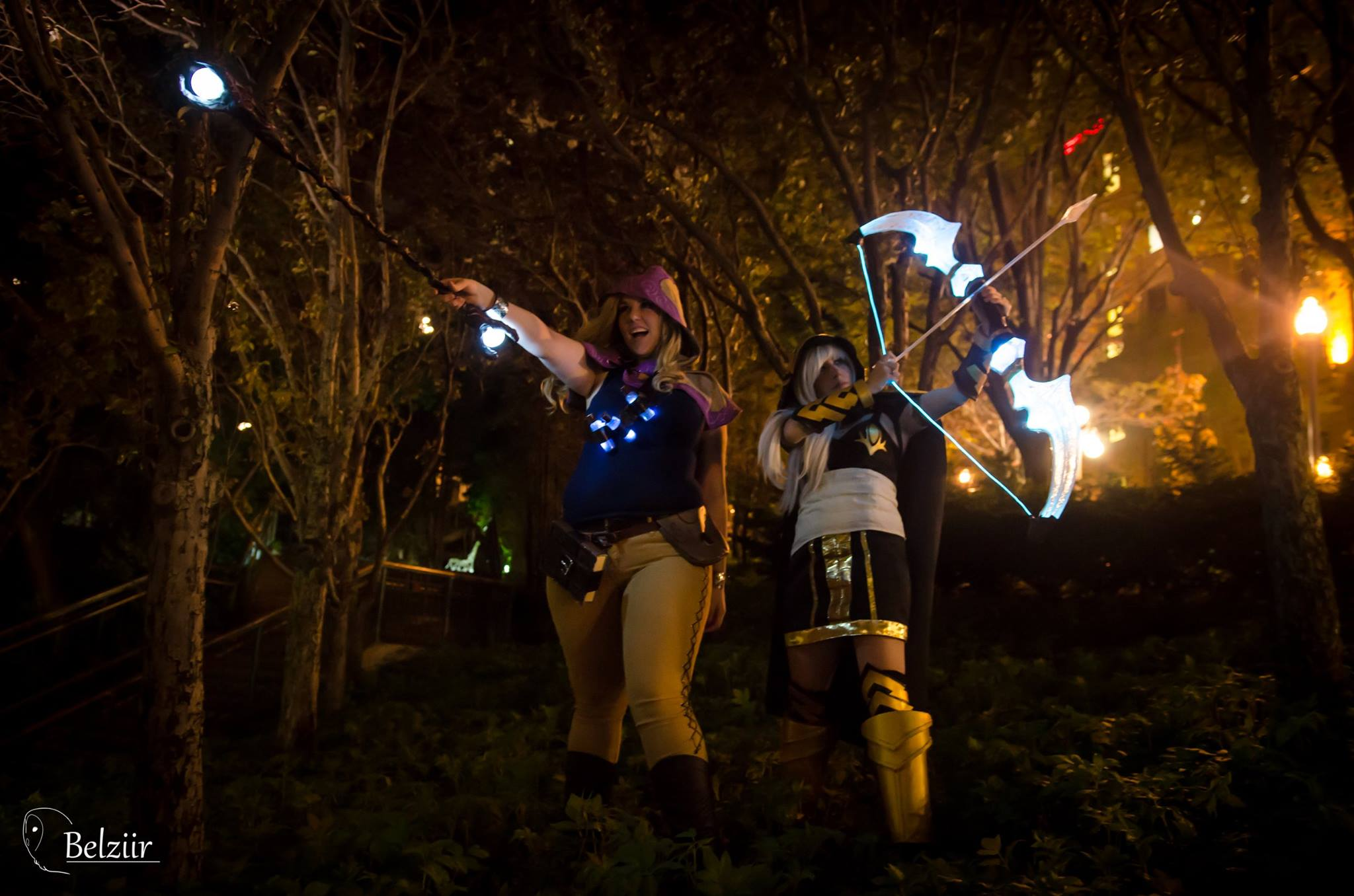 Ashe Cosplay bow - Arc lumineux