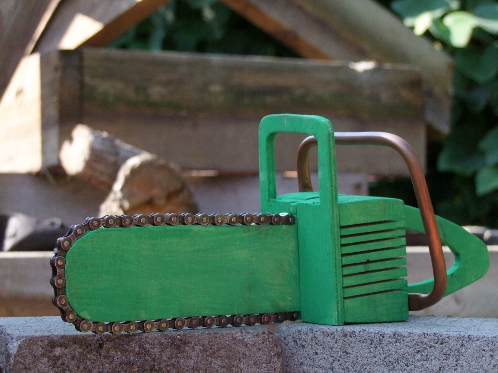 Wooden Chain Saw Toy